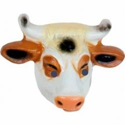 Kuh plastik maske