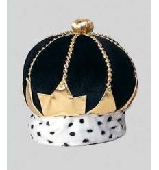 Corona real decorada