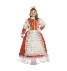 Disfraz sissi princesa infantil