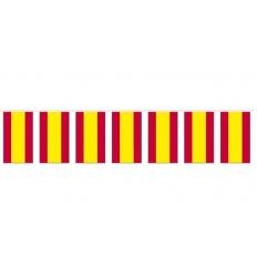 Bolsa bandera espaÑa de papel 15x20 cm.