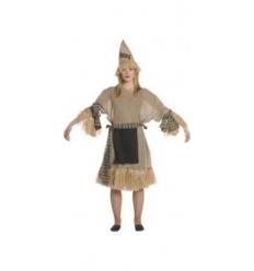 Disfraz espantapajaros chica adulto
