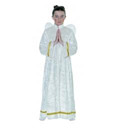 Disfraz angelito infantil blanco