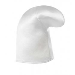 Chapeau schtroumpf tissu blanc