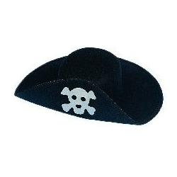 Chapéu pirata em feltro