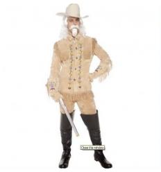Chaqueta y guantes bufalo bill adulto