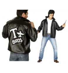 Chaqueta grease adulto