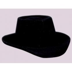 Chapéu de vaqueiro preto