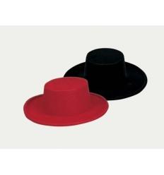 Sombrero cordobes flocado