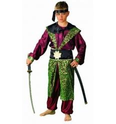 Samurai Kinderkostüm in Größe 6