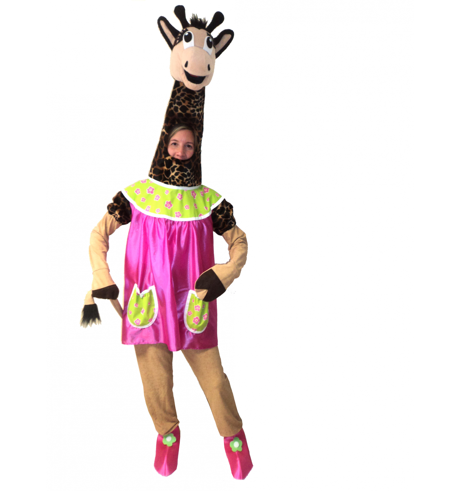 d guisement girafe adulte magasin deguisements offres. Black Bedroom Furniture Sets. Home Design Ideas