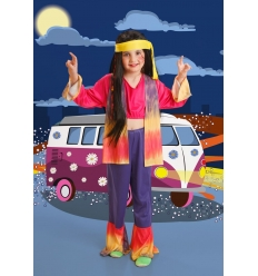 DISFRAZ HIPPIE CHINA INFANTIL