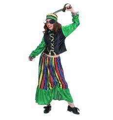 Disfraz pirata bucanera infantil