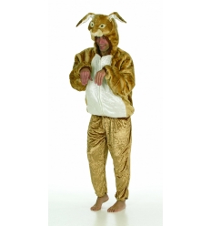 Disfraz conejo petables adulto