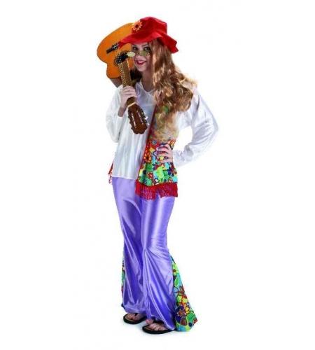 Disfraz hippi mujer