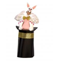 Disfraz conejo con chistera