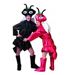 Disfraz hormiga roja