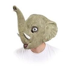 Cabeza elefante latex completa