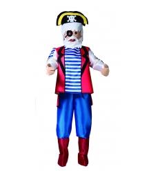 Disfraz muÑeco pirata adulto