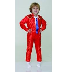 Disfraz torero rojo ubba infantil