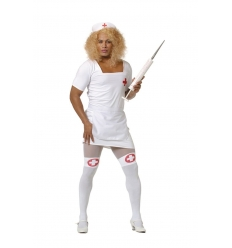 Disfraz enfermera hombre adulto