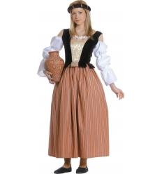 Disfraz celestina medieval adulto