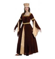 Disfraz blanca de navarra medieval
