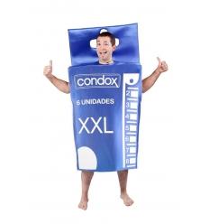 Disfraz cajita de preservativos