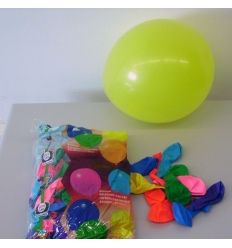 Bolsa 100 globos corrientes