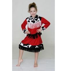 Disfraz rodeo vaquera chica infantil