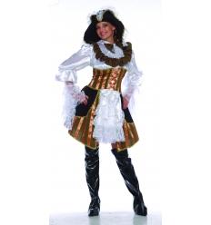 Disfraz pirata bucanera adulto ubba