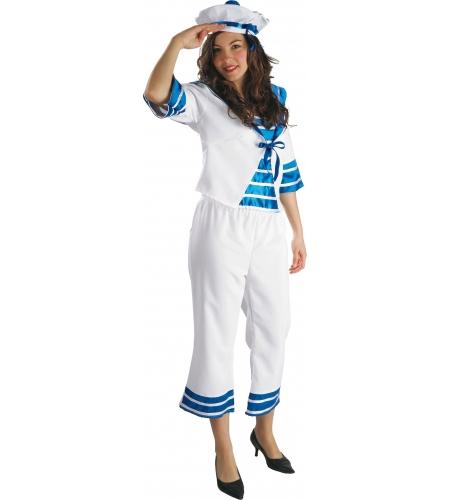 Disfraz marinera adulto importaciÓn