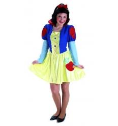 Disfraz princesa nieves adulto