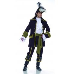 Buccaneer pirate man costume