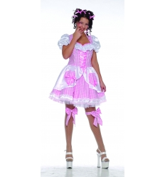Puppet dolly adult costume