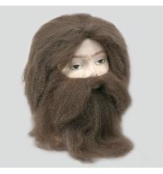 Peluca y barba cavernicola