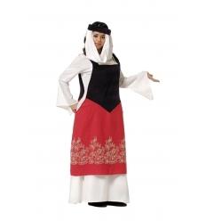 Disfraz catalina medieval adulto
