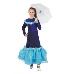Disfraz dama glamour infantil