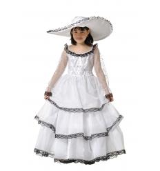Disfraz scarlata princesa infantil