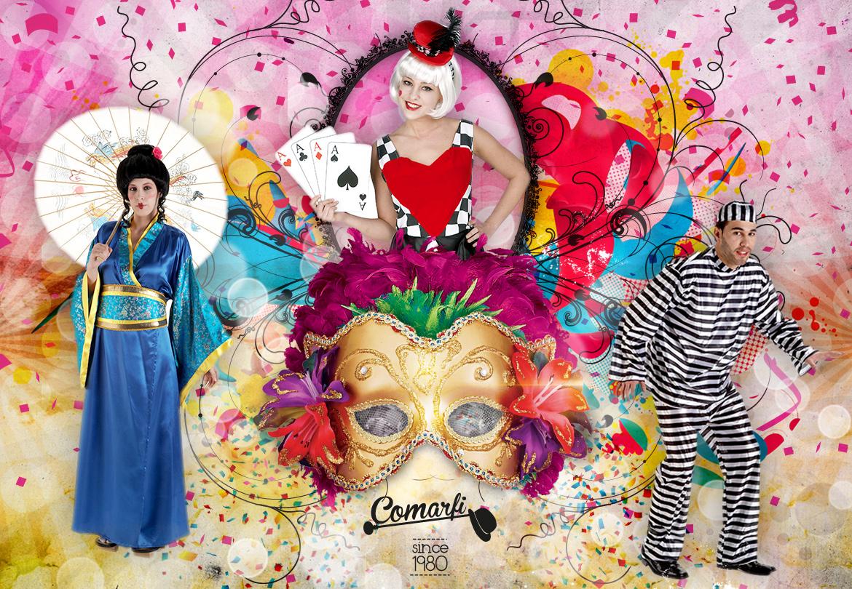 Kostumen Shop. Lieferungen in weniger als 72 Stunden - Comarfi
